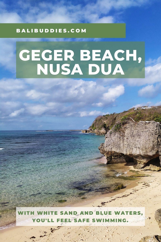 Geger Beach Pin 1