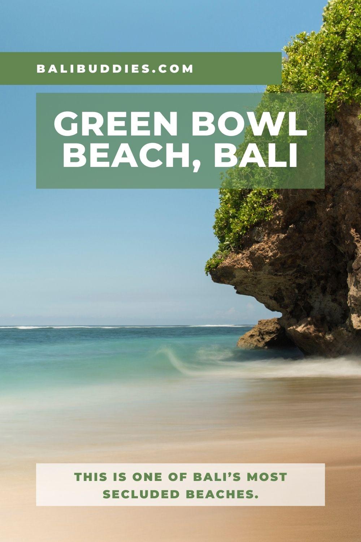 Green Bowl Beach Pin 1