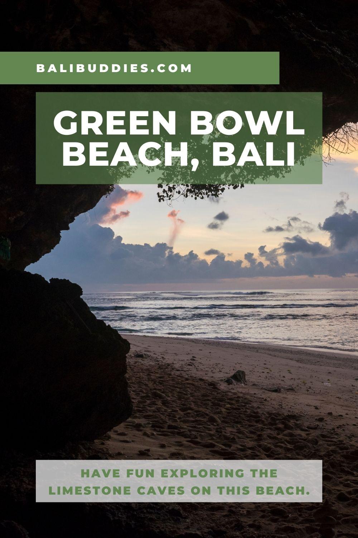 Green Bowl Beach Pin 2