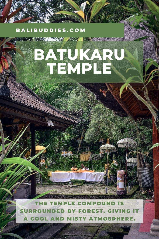 Batukaru Temple Pin 1