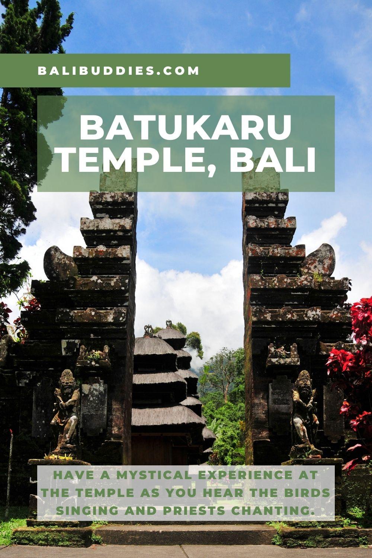 Batukaru Temple Pin 2