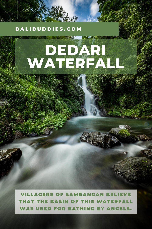 Dedari Waterfall Pin 1