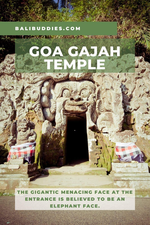 Goa Gajah Temple Pin 1