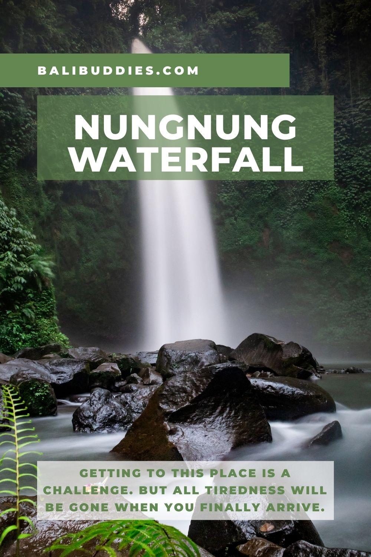 Nungnung Waterfall Pin 1
