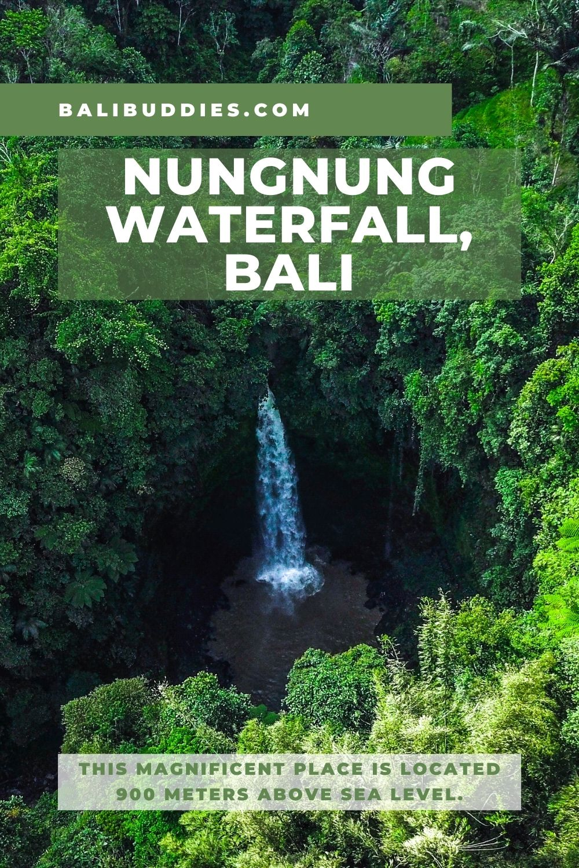 Nungnung Waterfall Pin 2