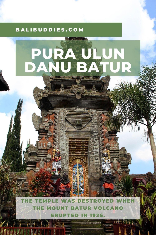 Ulun Danu Batur Temple Pin 2