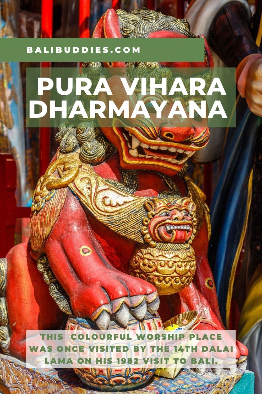 Vihara Dharmayana Temple Pin 2