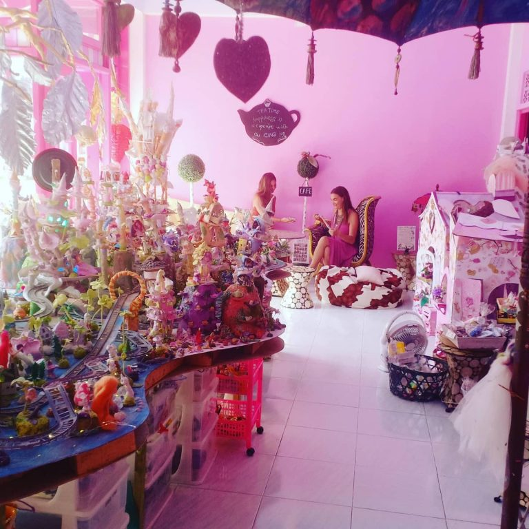 One of the many things to do with kids in Bali: Fairy Village in Ubud