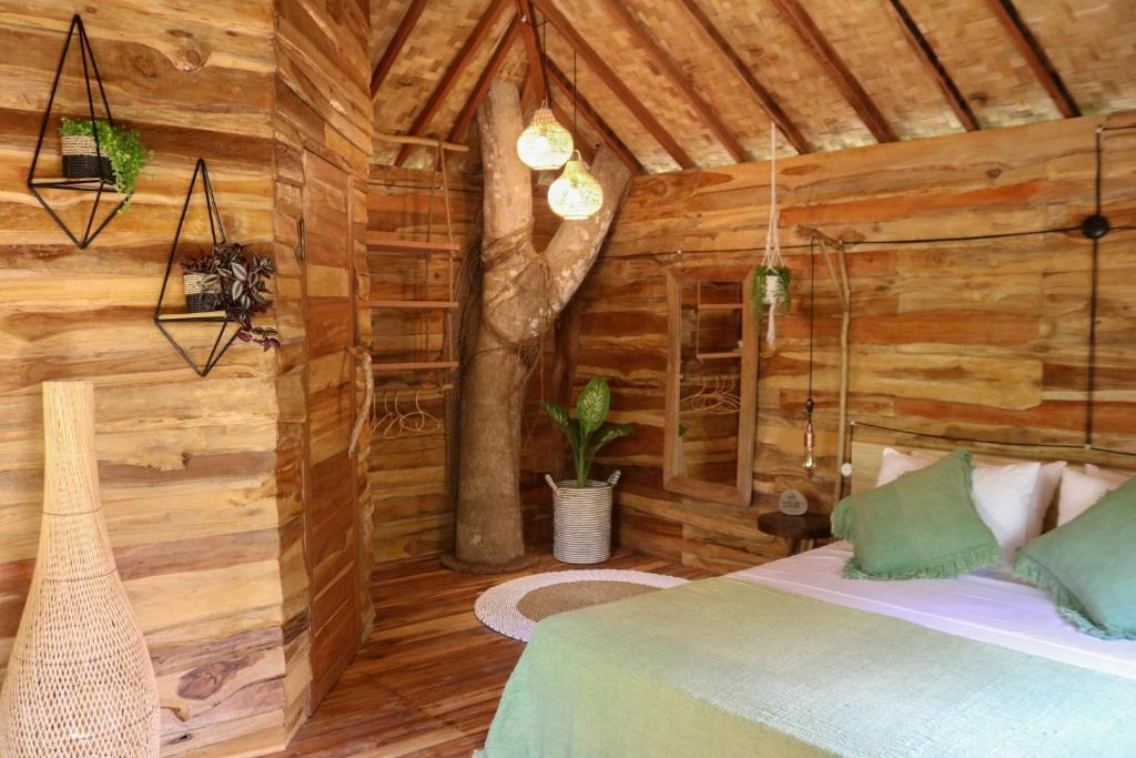 Interior of Roots Tree House Ungasan