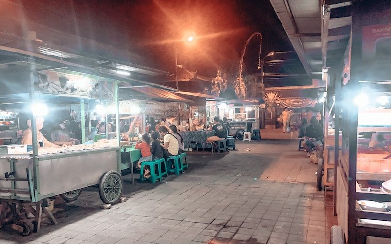 Sindhu night market hawker center at Sindhu night market