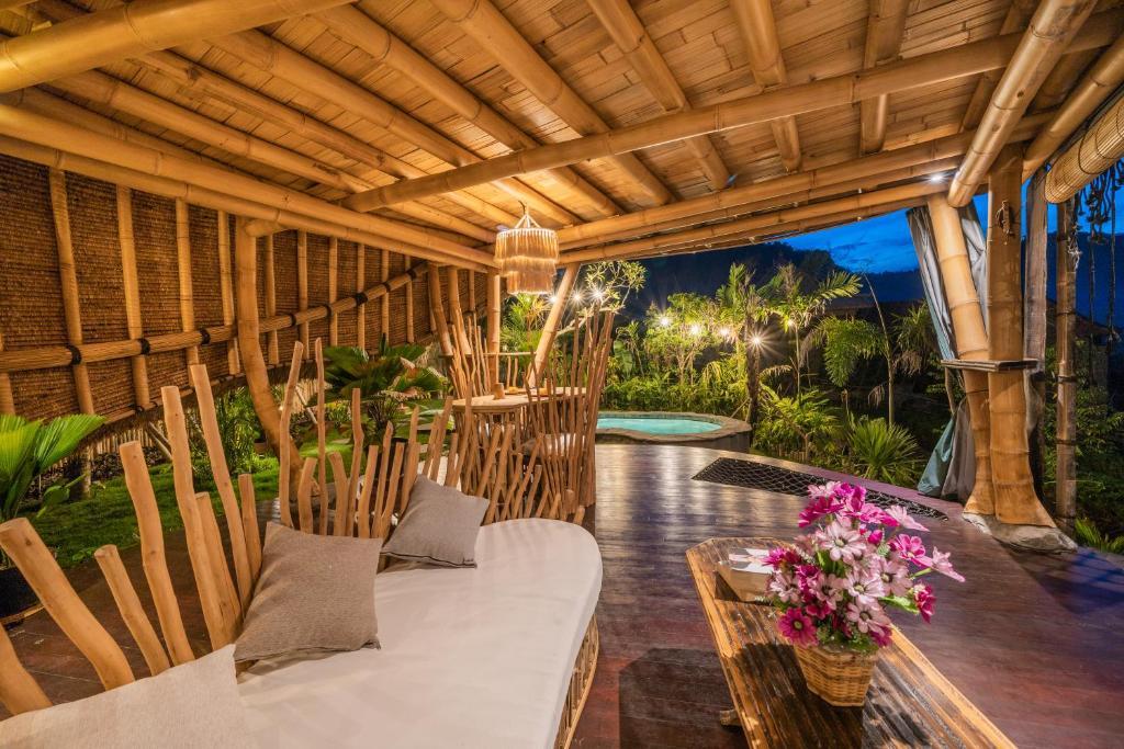 Veluvana Bali Tree House in Sidemen
