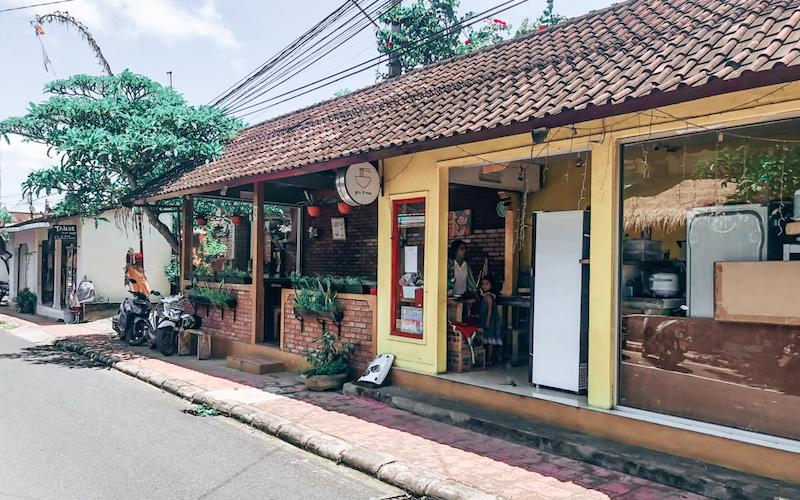 You and Mie restaurant in Ubud