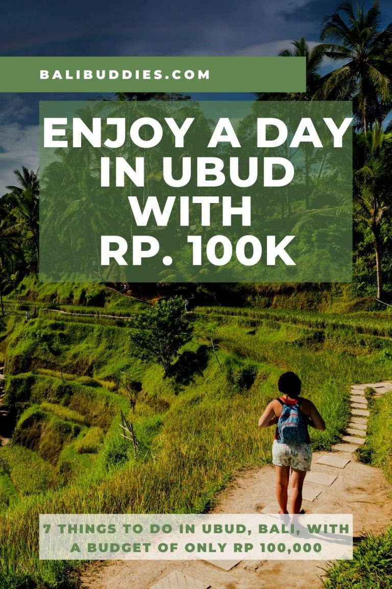 7 Things to do in Ubud with Rp 100k - Pinterest