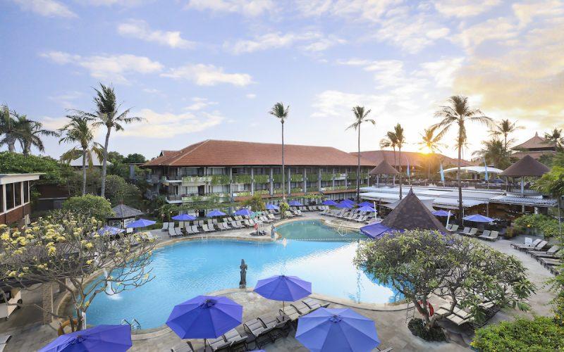 Main Swimming pool of Bali Dynasty Resort