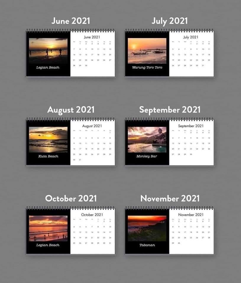 DAR Photo - Calendar Gifts