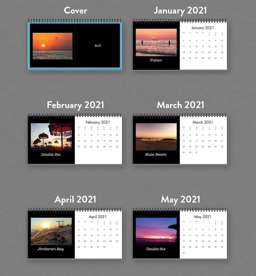 DAR Photo - Calendar