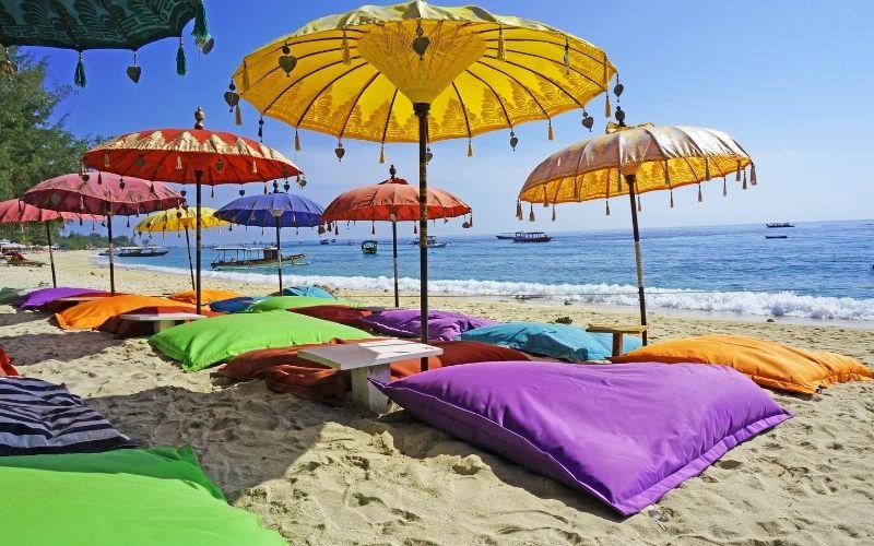 Holidaying in Bali