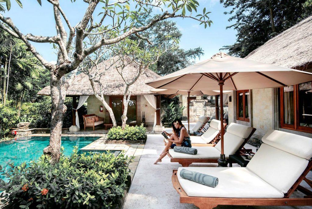 Private garden villa at Melia Bali