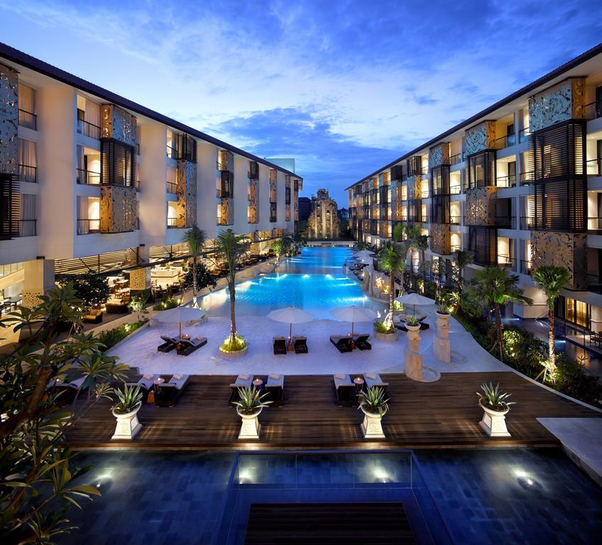 The Trans Resort Bali by nightfall