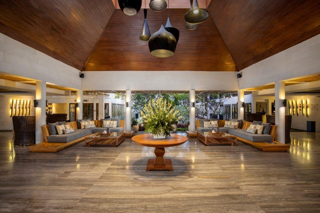 Lobby of Away Resort Legian Camakila