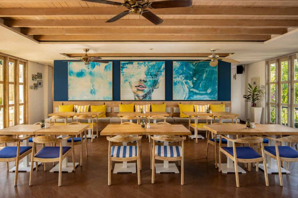 Restaurant at Away Resort Legian Camakila