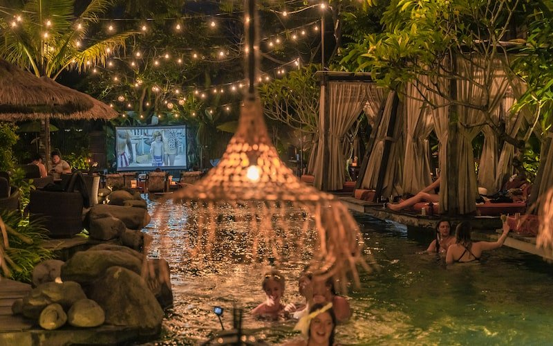 Folk Ubud - Movie Night by the Pool | Where to catch a movie in Bali right now, by Bali Buddies