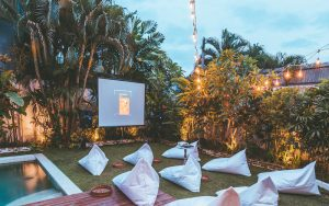 Guru Canggu Movie Night by The Pool