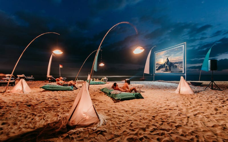 Karma Uluwatu, Movie Night at the Beach | Where to catch a movie in Bali right now, by Bali Buddies