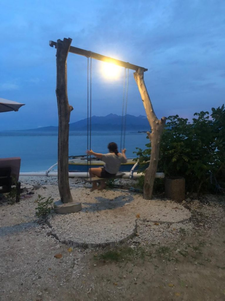 Sunset at Gili Island