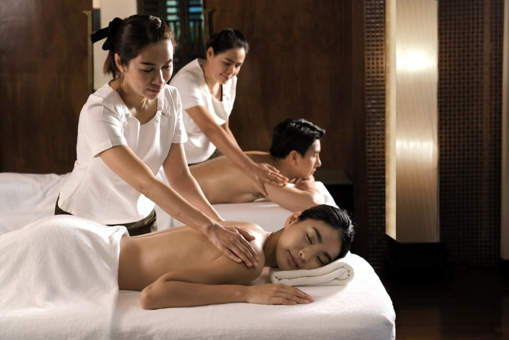 Couple's massage at The Westin Ubud