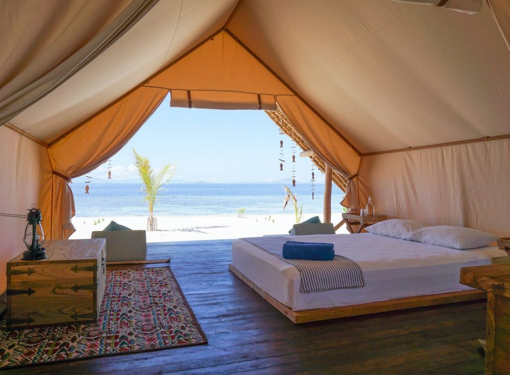 Le Pirate Private Island - Luxury tent on the beach