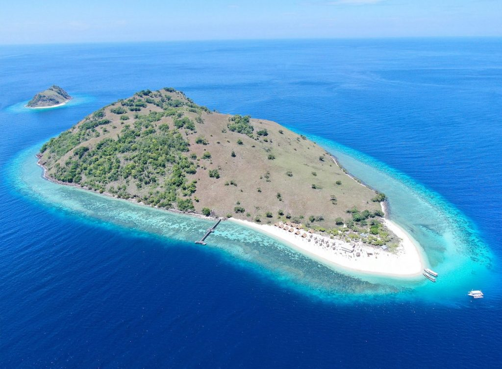 Le Pirate Private island - Aerial view
