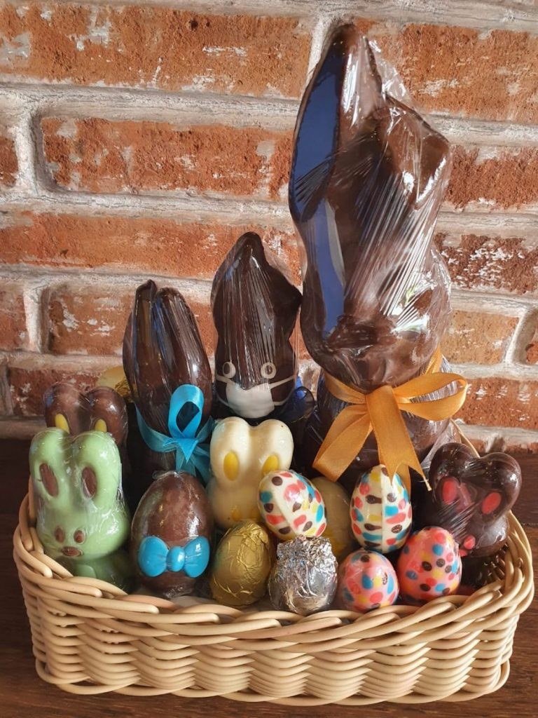 Bali Bon Bon Chocolate Easter Bunnies