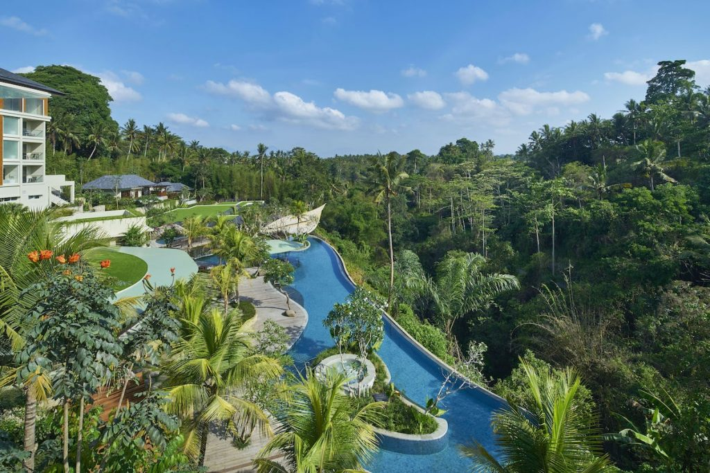 Aerial view of The Westin Ubud
