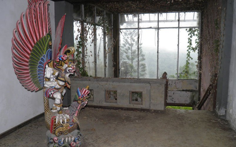 Haunted Hotel Bedugul Bali | Bali's Best Haunted Places | Abandoned Places in Bali