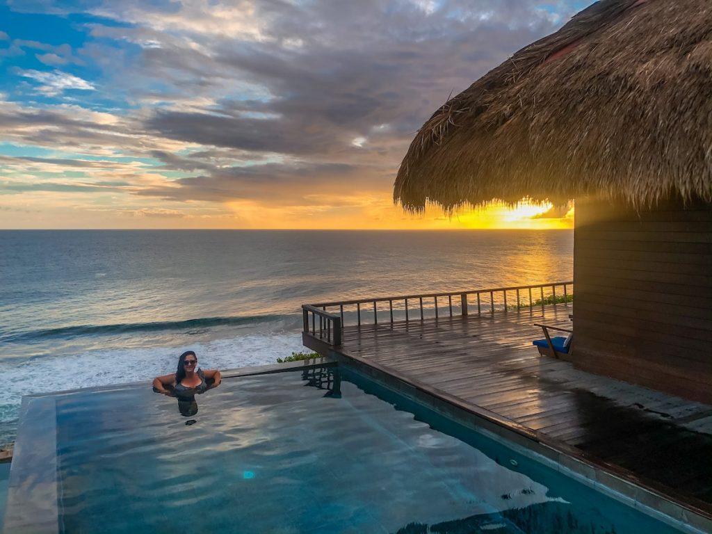 Lelewatu's private villas make a great honeymoon spot