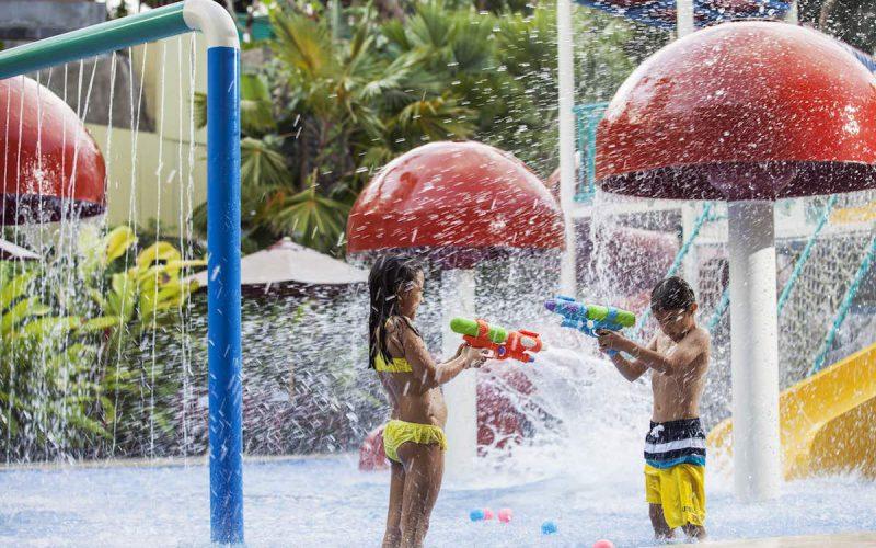 Miniapolis Jungle Waterplay at Bali Zoo