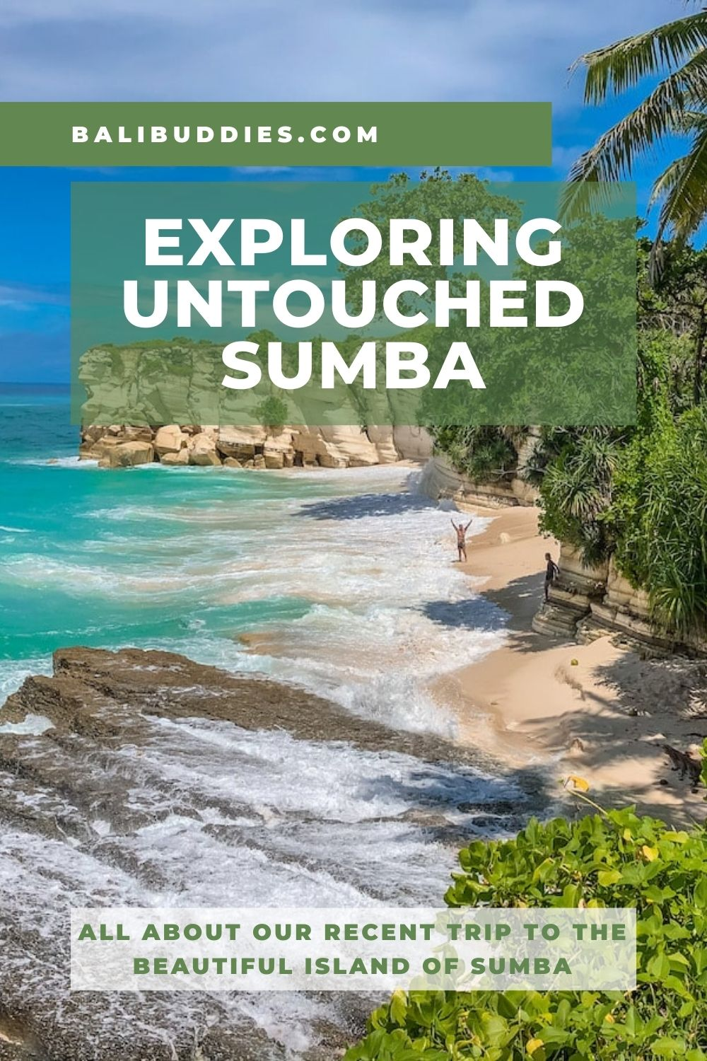 View of a beach in Sumba, Indonesia