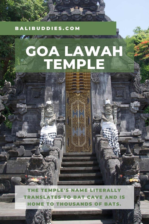Goa Lawah Temple Pin 1