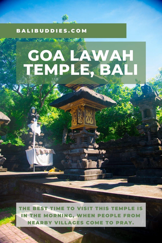 Goa Lawah Temple Pin 2
