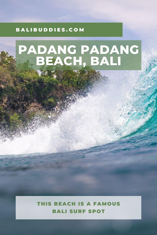 Padang Padang Beach Pin 1