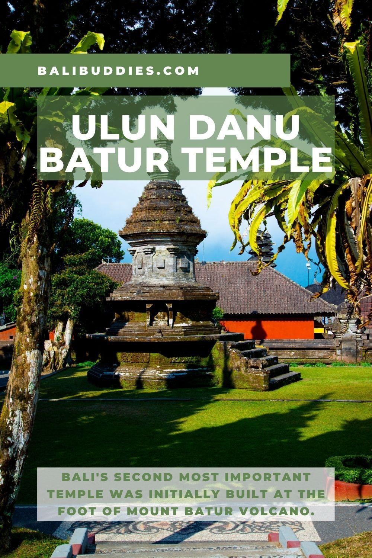Ulun Danu Batur Temple Pin 1