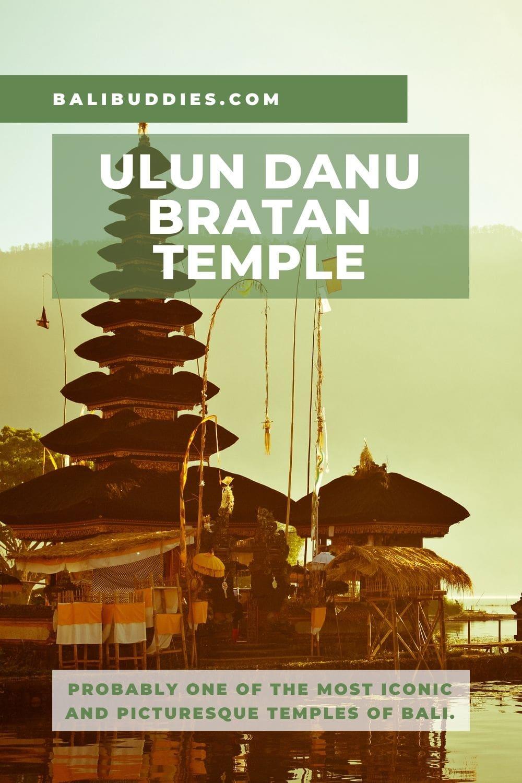 Ulun Danu Bratan Temple Pin 1