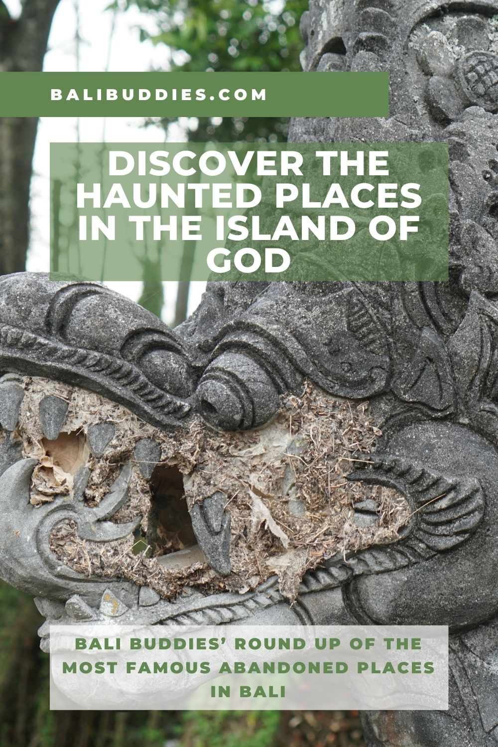Abandoned Places to Visit in Bali