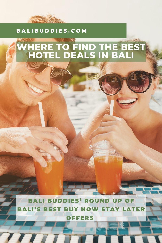 Best Hotel Deals in Bali by Bali Buddies