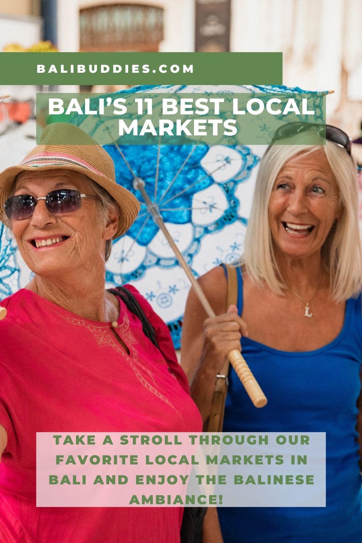 Bali's Best Local Markets