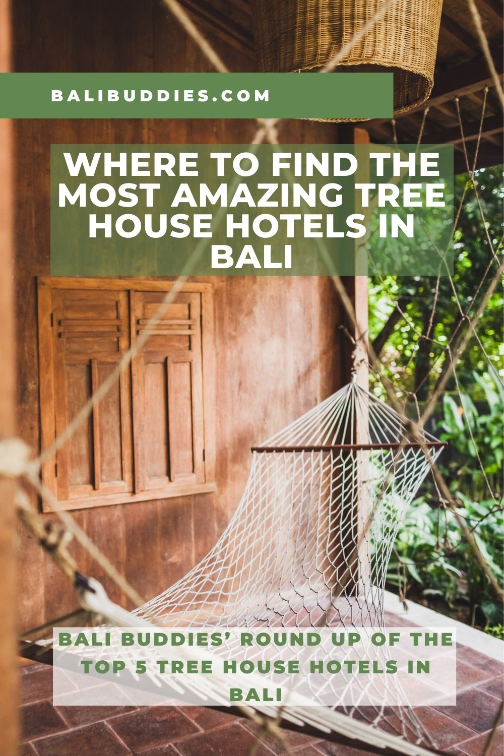 Top 5 Tree House Hotels in Bali