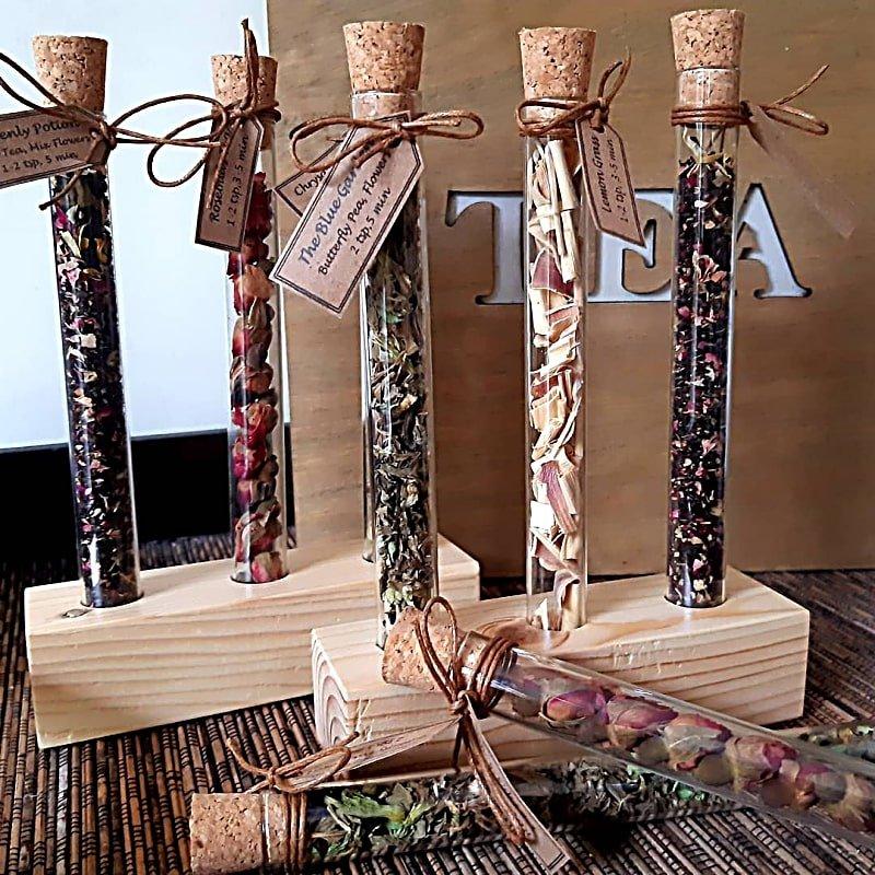 tea tubes gift idea from go gift bali
