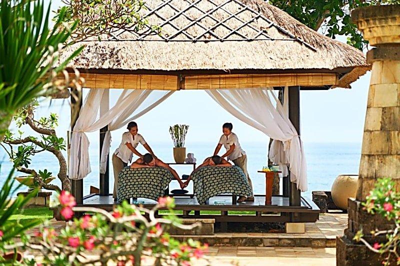 A relaxing massage at Conrad Bali Nusa Dua