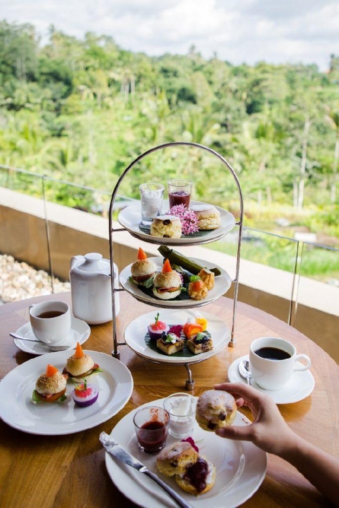 Afternoon Tea Time at Padma Resort Ubud